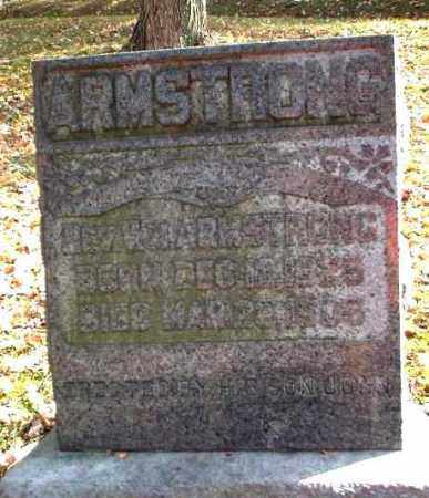 ARMSTRONG, REV. WM. - Meigs County, Ohio | REV. WM. ARMSTRONG - Ohio Gravestone Photos