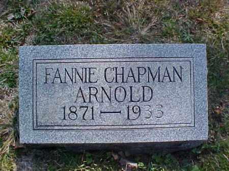 ARNOLD, FANNIE - Meigs County, Ohio | FANNIE ARNOLD - Ohio Gravestone Photos