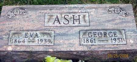 ASH, GEORGE - Meigs County, Ohio   GEORGE ASH - Ohio Gravestone Photos