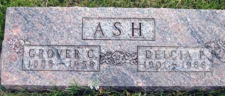 ASH, GROVER C. - Meigs County, Ohio   GROVER C. ASH - Ohio Gravestone Photos