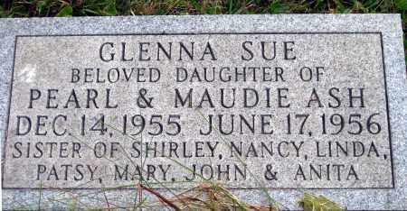 ASH, GLENNA SUE - Meigs County, Ohio   GLENNA SUE ASH - Ohio Gravestone Photos