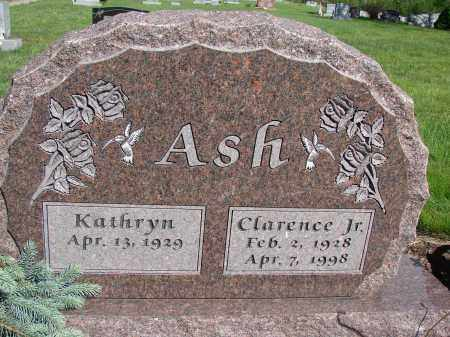 ASH, JR, CLARENCE - Meigs County, Ohio | CLARENCE ASH, JR - Ohio Gravestone Photos