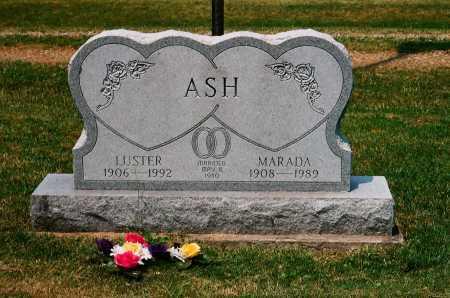 ASH, MARADA - Meigs County, Ohio | MARADA ASH - Ohio Gravestone Photos
