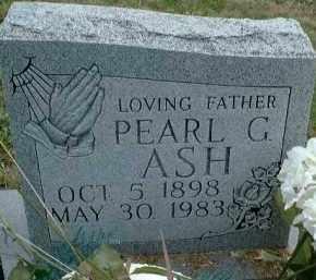 ASH, PEARL G. - Meigs County, Ohio | PEARL G. ASH - Ohio Gravestone Photos