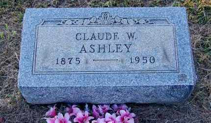 ASHLEY, CLAUDE W. - Meigs County, Ohio | CLAUDE W. ASHLEY - Ohio Gravestone Photos