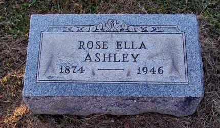 ASHLEY, ROSE ELLA - Meigs County, Ohio | ROSE ELLA ASHLEY - Ohio Gravestone Photos
