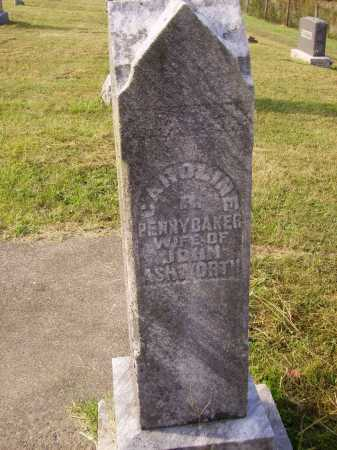 PENNYBAKER ASHWORTH, CAROLINE - MONUMENT - Meigs County, Ohio | CAROLINE - MONUMENT PENNYBAKER ASHWORTH - Ohio Gravestone Photos
