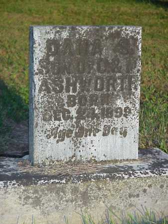 ASHWORTH, DANA S. - Meigs County, Ohio | DANA S. ASHWORTH - Ohio Gravestone Photos