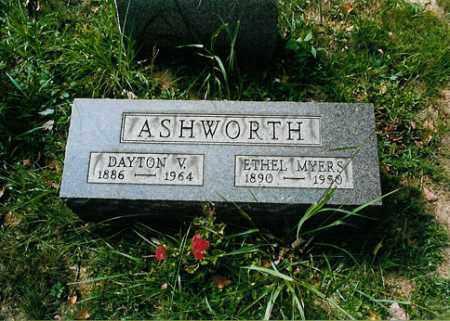 ASHWORTH, ETHEL - Meigs County, Ohio | ETHEL ASHWORTH - Ohio Gravestone Photos