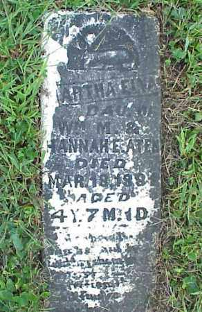 ATEN, MARTHA ELVA - Meigs County, Ohio | MARTHA ELVA ATEN - Ohio Gravestone Photos