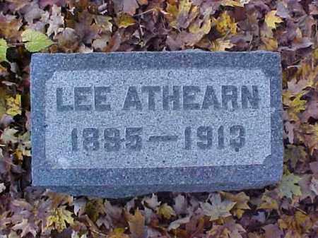 ATHEARN, LEE - Meigs County, Ohio | LEE ATHEARN - Ohio Gravestone Photos