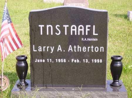 ATHERTON, LARRY A. - Meigs County, Ohio | LARRY A. ATHERTON - Ohio Gravestone Photos