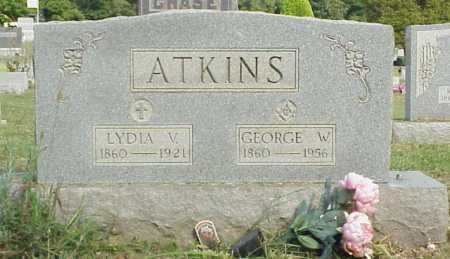 ATKINS, LYDIA V. - Meigs County, Ohio | LYDIA V. ATKINS - Ohio Gravestone Photos