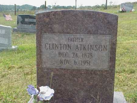 ATKINSON, CLINTON - Meigs County, Ohio | CLINTON ATKINSON - Ohio Gravestone Photos