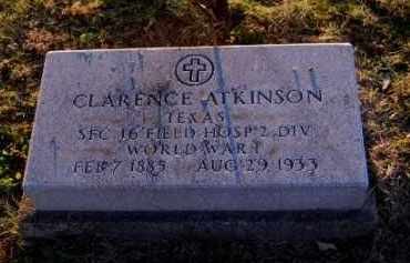ATKINSON, CLARENCE - Meigs County, Ohio | CLARENCE ATKINSON - Ohio Gravestone Photos