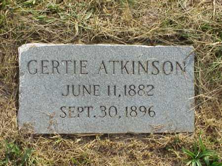 ATKINSON, GERTIE - Meigs County, Ohio | GERTIE ATKINSON - Ohio Gravestone Photos