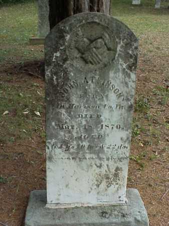 ATKINSON, JOHN - Meigs County, Ohio   JOHN ATKINSON - Ohio Gravestone Photos