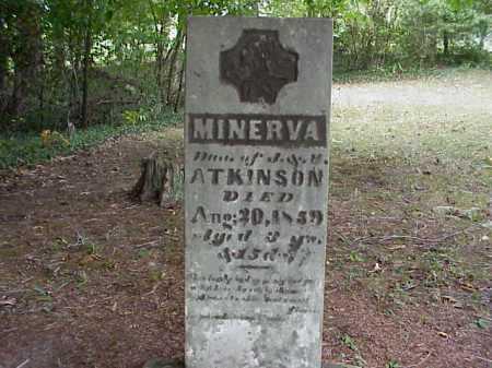 ATKINSON, MINERVA - Meigs County, Ohio | MINERVA ATKINSON - Ohio Gravestone Photos