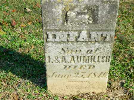 AUMILLER, INFANT - Meigs County, Ohio   INFANT AUMILLER - Ohio Gravestone Photos