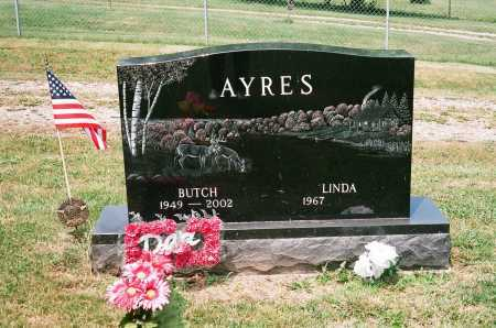 AYRES, LINDA - Meigs County, Ohio | LINDA AYRES - Ohio Gravestone Photos