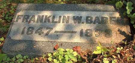 BABER, FRANKLIN - Meigs County, Ohio | FRANKLIN BABER - Ohio Gravestone Photos