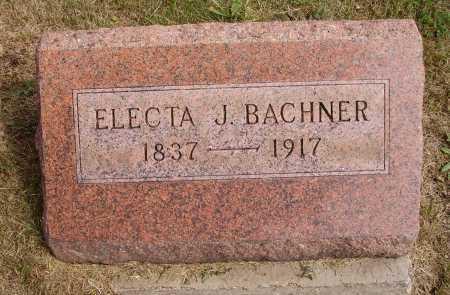 BACHNER, ELECTA J. - Meigs County, Ohio | ELECTA J. BACHNER - Ohio Gravestone Photos