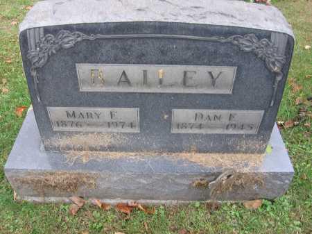 BAILEY, MARY E. - Meigs County, Ohio   MARY E. BAILEY - Ohio Gravestone Photos