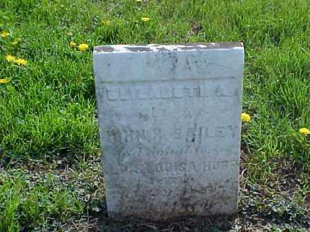 BAILEY, ELIZABETH A. - Meigs County, Ohio | ELIZABETH A. BAILEY - Ohio Gravestone Photos