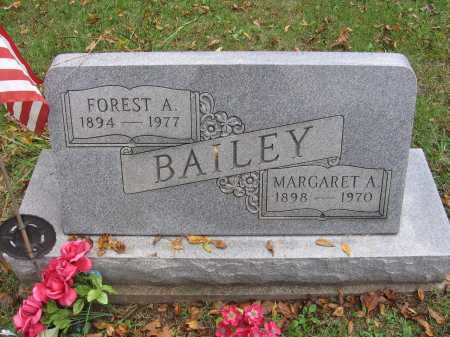 FELL BAILEY, MARGARET - Meigs County, Ohio   MARGARET FELL BAILEY - Ohio Gravestone Photos