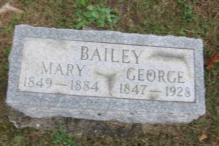 BAILEY, GEORGE - Meigs County, Ohio   GEORGE BAILEY - Ohio Gravestone Photos