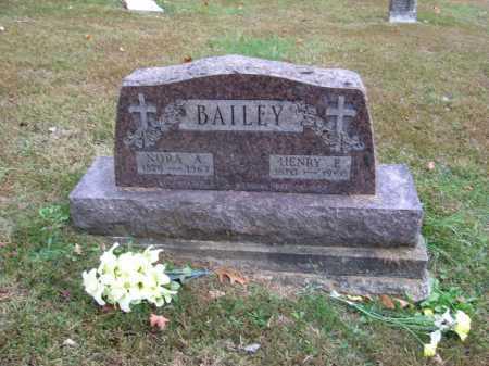 BAILEY, ALICE - Meigs County, Ohio | ALICE BAILEY - Ohio Gravestone Photos