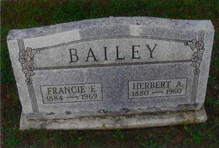 YOUNG BAILEY, FRANCIS R. - Meigs County, Ohio | FRANCIS R. YOUNG BAILEY - Ohio Gravestone Photos