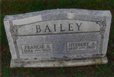 BAILEY, HERBERT A. - Meigs County, Ohio | HERBERT A. BAILEY - Ohio Gravestone Photos