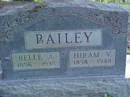 BAILEY, BELLE A. - Meigs County, Ohio | BELLE A. BAILEY - Ohio Gravestone Photos