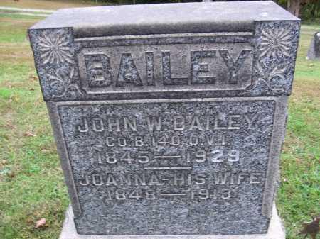 BAILEY, JOANNA - Meigs County, Ohio | JOANNA BAILEY - Ohio Gravestone Photos