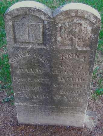 BAILEY, ANNA - Meigs County, Ohio | ANNA BAILEY - Ohio Gravestone Photos