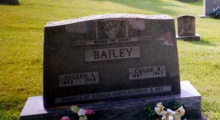 BAILEY, CHLOE B. - Meigs County, Ohio | CHLOE B. BAILEY - Ohio Gravestone Photos