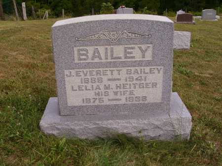 HEITGER BAILEY, LELIA M. - Meigs County, Ohio | LELIA M. HEITGER BAILEY - Ohio Gravestone Photos