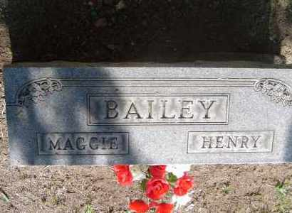 BAILEY, MAGGIE - Meigs County, Ohio | MAGGIE BAILEY - Ohio Gravestone Photos