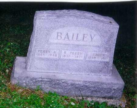 BAILEY, PERRY A. - Meigs County, Ohio | PERRY A. BAILEY - Ohio Gravestone Photos