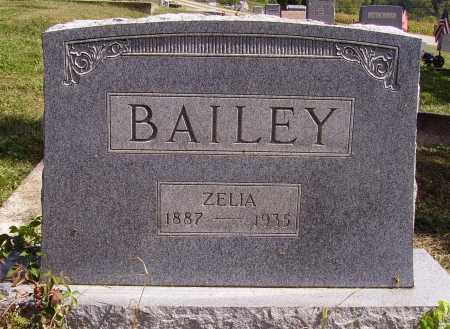 BAILEY, ZELIA - Meigs County, Ohio | ZELIA BAILEY - Ohio Gravestone Photos