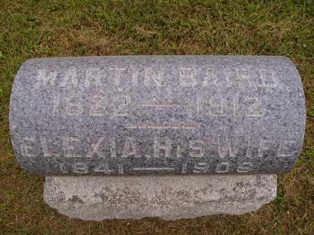 BAIRD, MARTIN - Meigs County, Ohio   MARTIN BAIRD - Ohio Gravestone Photos