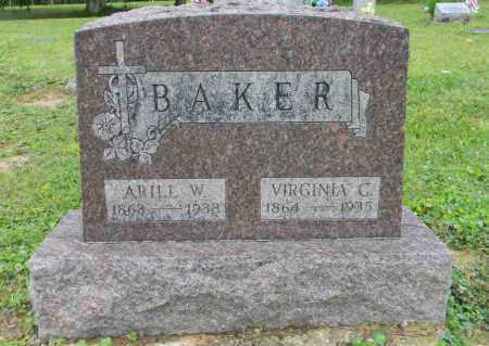 BAKER, ARILL W. - Meigs County, Ohio | ARILL W. BAKER - Ohio Gravestone Photos