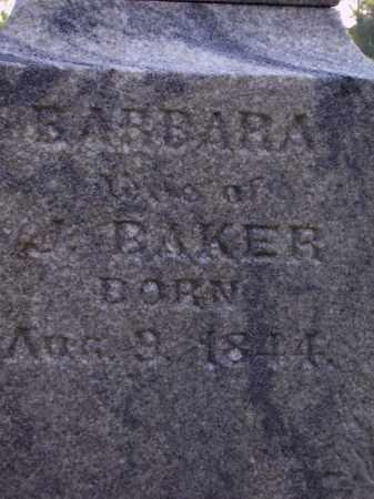 BAKER, BARBARA  CLOSE VIEW - Meigs County, Ohio   BARBARA  CLOSE VIEW BAKER - Ohio Gravestone Photos