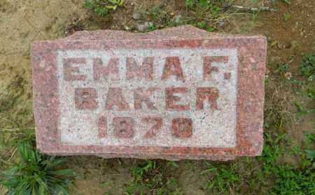 BAKER, EMMA F. - Meigs County, Ohio   EMMA F. BAKER - Ohio Gravestone Photos