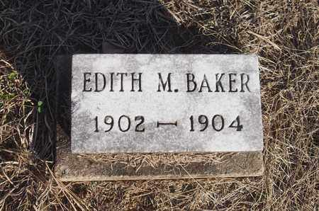 BAKER, EDITH M. - Meigs County, Ohio | EDITH M. BAKER - Ohio Gravestone Photos