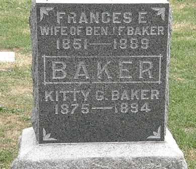 BAKER, KITTY G. - Meigs County, Ohio | KITTY G. BAKER - Ohio Gravestone Photos
