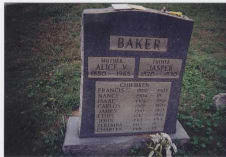 BAKER, CHARLES - Meigs County, Ohio | CHARLES BAKER - Ohio Gravestone Photos
