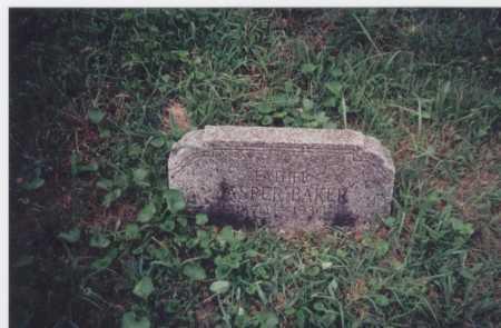 BAKER, JASPER - Meigs County, Ohio | JASPER BAKER - Ohio Gravestone Photos
