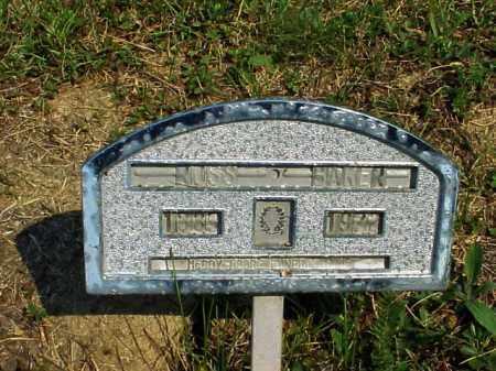 BAKER, ROSS - Meigs County, Ohio | ROSS BAKER - Ohio Gravestone Photos